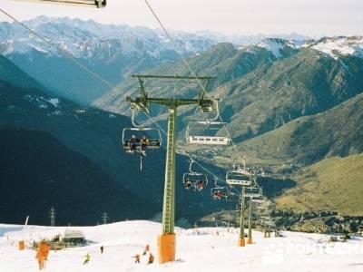 Esquí Baqueira; gratis, senderismo free